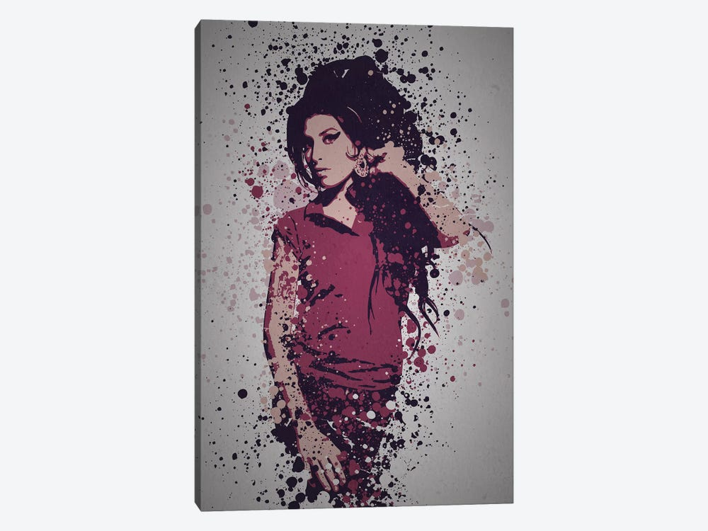 Amy Winehouse Art Print By Tm Creative Design Icanvas