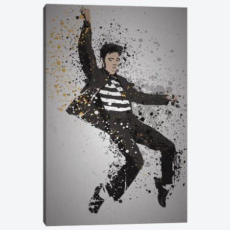 Elvis Presley Canvas Print #TCD53} by TM Creative Design Canvas Wall Art