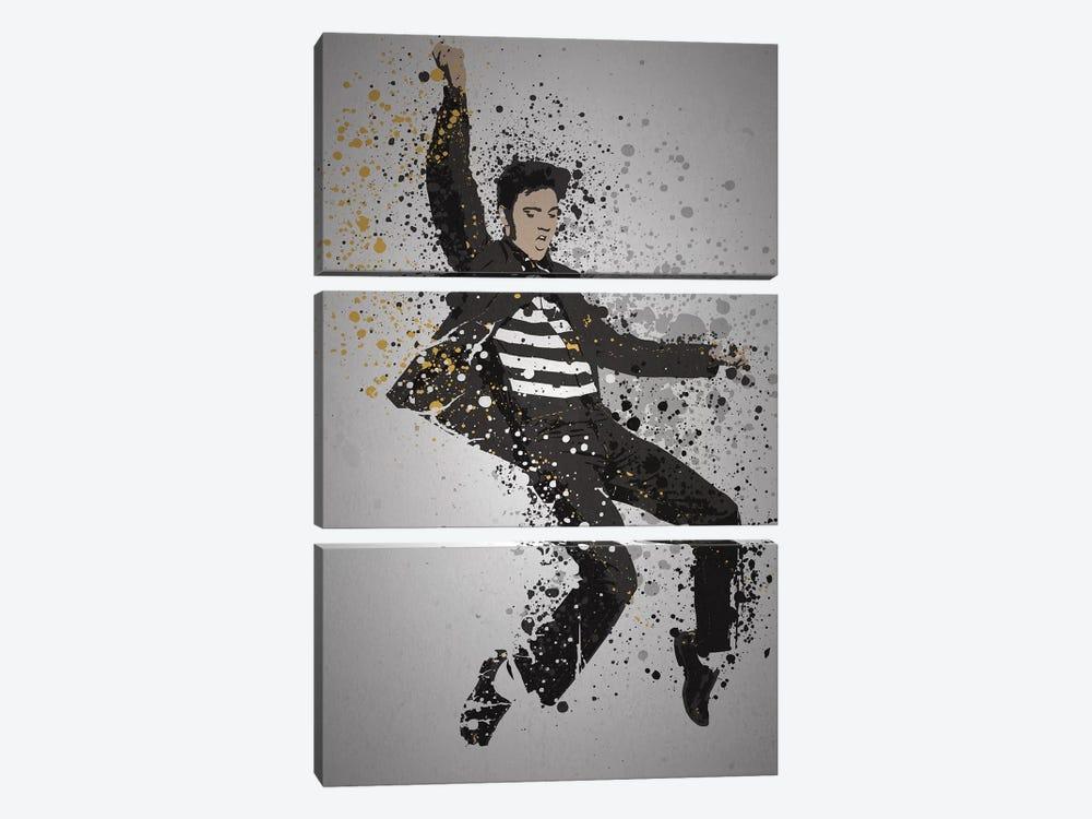 Elvis Presley by TM Creative Design 3-piece Art Print