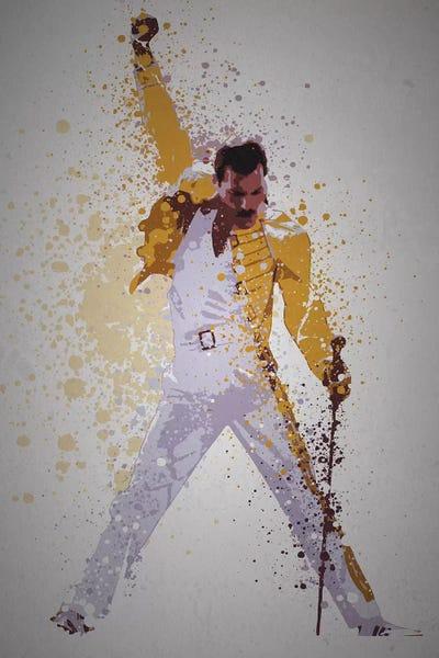 Freddie Mercury Canvas Print By Tm Creative Design Icanvas