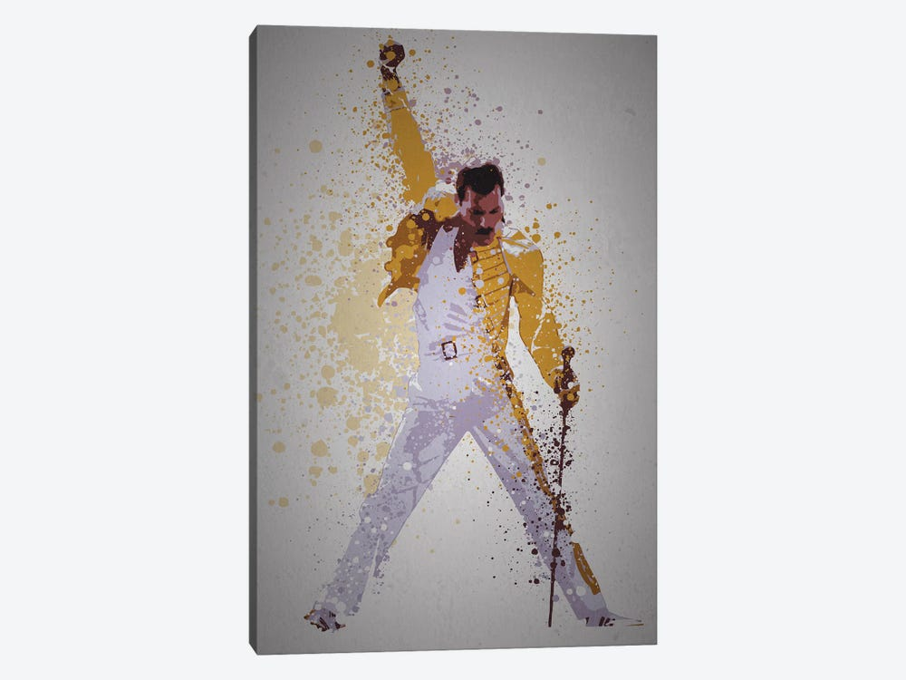 Freddie Mercury by TM Creative Design 1-piece Canvas Wall Art