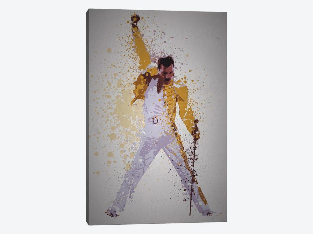 Freddie Mercury by TM Creative Design 1-piece Canvas Wall Art
