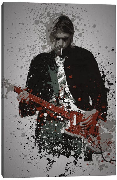 Kurt Cobain Canvas Art Print