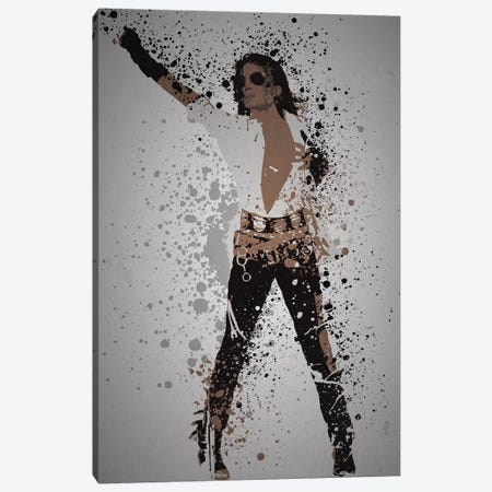 Michael Jackson Canvas Print #TCD58} by TM Creative Design Canvas Artwork