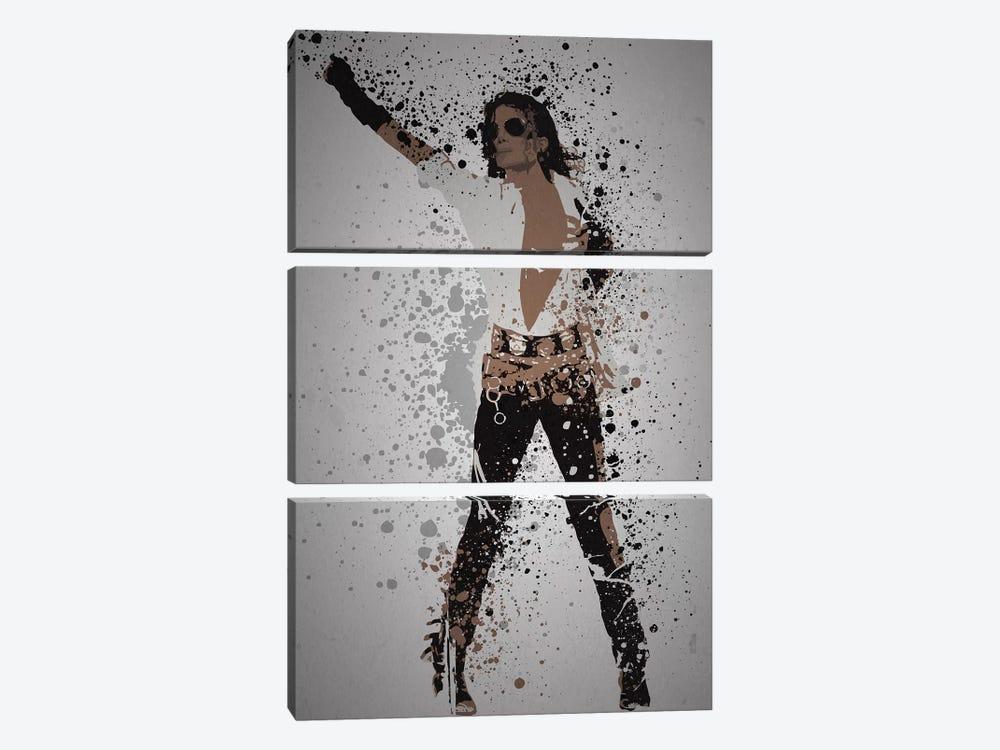 Michael Jackson by TM Creative Design 3-piece Canvas Artwork
