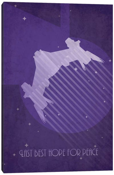 Starfury Canvas Art Print