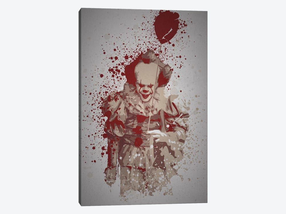 Pennywise 1-piece Canvas Art Print