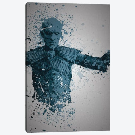 White Walker Canvas Print #TCD62} by TM Creative Design Art Print