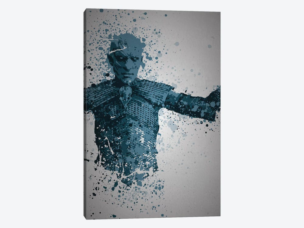 White Walker by TM Creative Design 1-piece Art Print