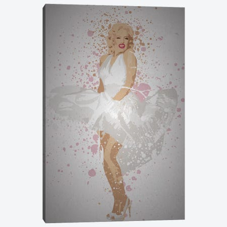 Marilyn Canvas Print #TCD64} by TM Creative Design Canvas Artwork