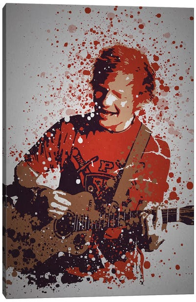 Ed Sheeran Canvas Art Print