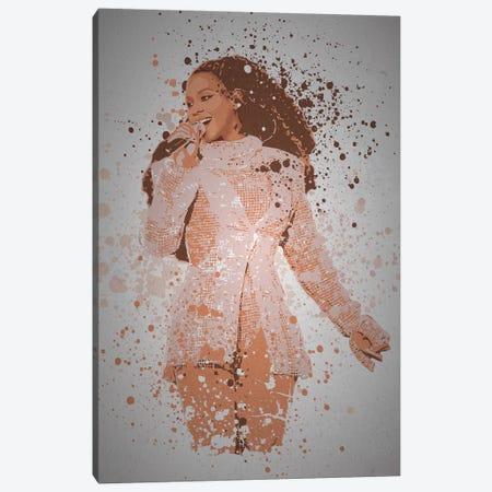 Beyonce Canvas Print #TCD68} by TM Creative Design Canvas Art Print