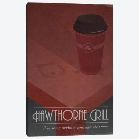 Hawthorne Grill (Pulp Fiction) Canvas Print #TCD69} by TM Creative Design Canvas Print