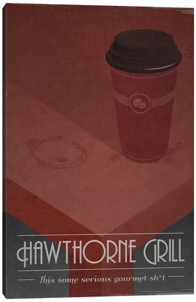 Hawthorne Grill (Pulp Fiction) Canvas Art Print