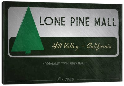 Lone Pine Mall (Back To The Future) Canvas Art Print