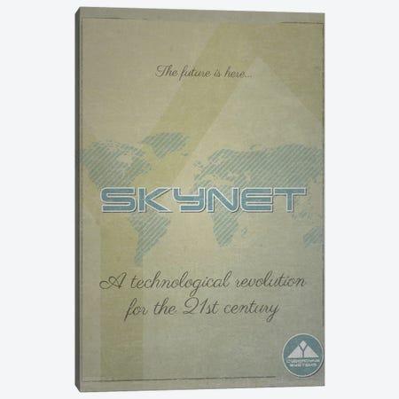 Skynet (Terminator) Canvas Print #TCD72} by TM Creative Design Canvas Art