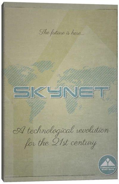 Skynet (Terminator) Canvas Art Print