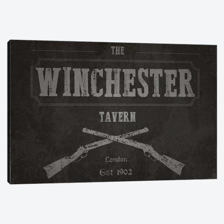 The Winchester Tavern (Shaun Of The Dead) Canvas Print #TCD75} by TM Creative Design Art Print