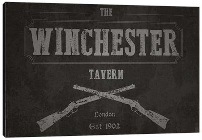 The Winchester Tavern (Shaun Of The Dead) Canvas Art Print