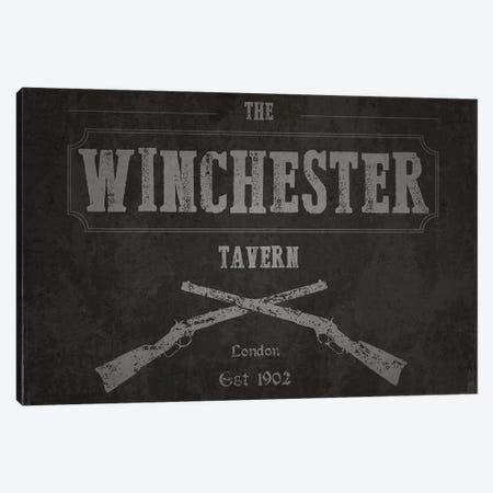 The Winchester Tavern (Shaun Of The Dead) Canvas Print #TCD75} by TM Creative Design Art Print