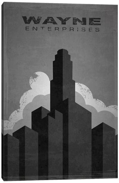 Wayne Enterprises (Batman) Canvas Art Print