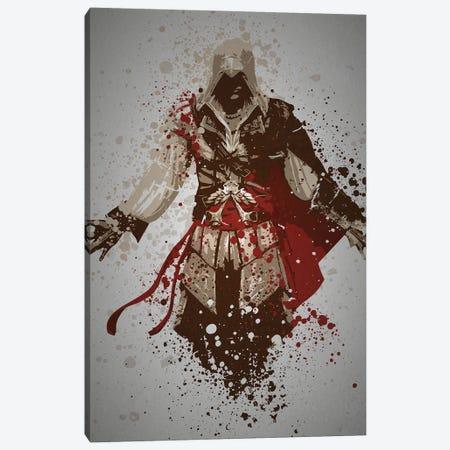 Assassin Canvas Print #TCD79} by TM Creative Design Canvas Wall Art
