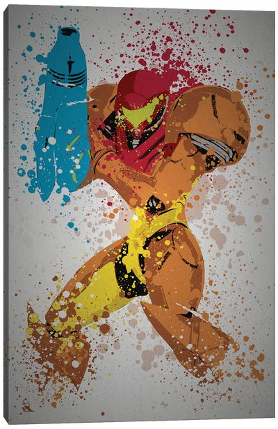 Metroid Canvas Art Print