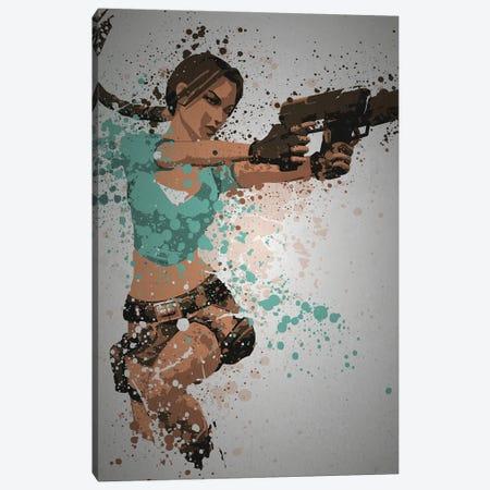 Raider Canvas Print #TCD94} by TM Creative Design Art Print