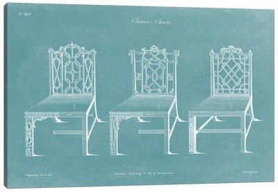 Design For A Chair I Canvas Art Print