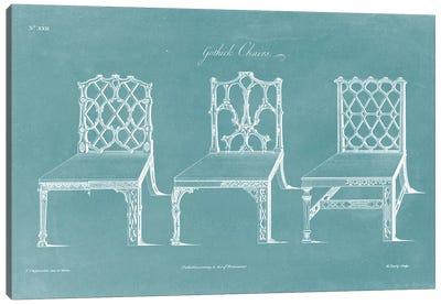 Design For A Chair II Canvas Art Print