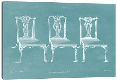 Design For A Chair III Canvas Art Print