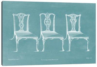 Design For A Chair III Canvas Art Print