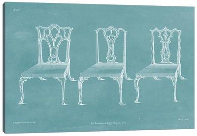 Design For A Chair IV Canvas Art Print