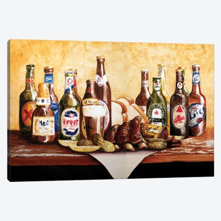 Bar-B-Cutie Canvas Print #TCK19} by Malenda Trick Canvas Art Print