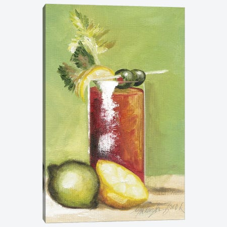 Bloody Mary Canvas Print #TCK20} by Malenda Trick Canvas Wall Art