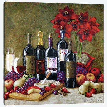Bountiful Elegance Canvas Print #TCK22} by Malenda Trick Canvas Art