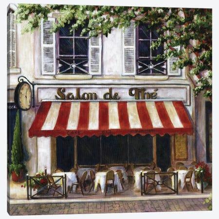 Cafe II Canvas Print #TCK23} by Malenda Trick Canvas Wall Art