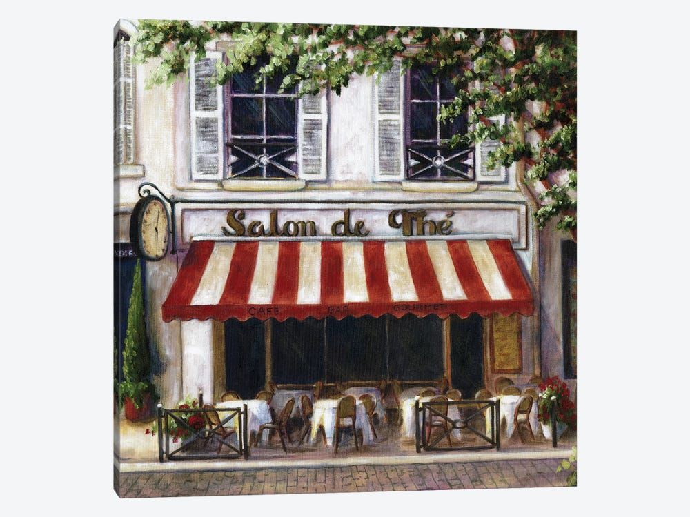 Cafe II by Malenda Trick 1-piece Canvas Wall Art
