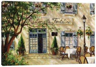 Cafe VII Canvas Art Print