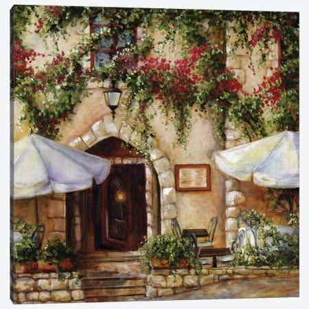 Cafe X Canvas Print #TCK29} by Malenda Trick Canvas Wall Art
