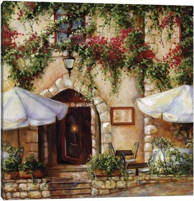 Cafe X Canvas Art Print