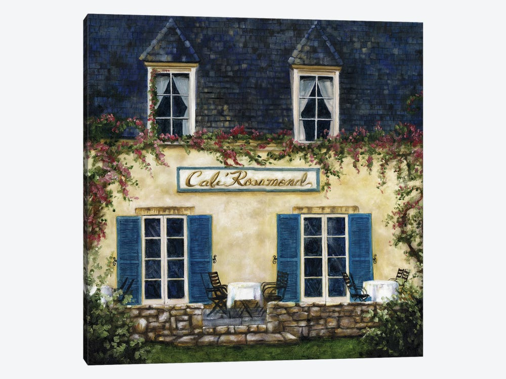 Cafe XI 1-piece Canvas Wall Art
