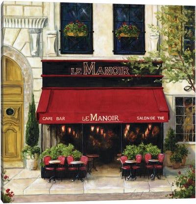 Cafe XIII Canvas Art Print
