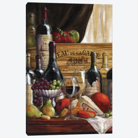 Chateau Magnifique II Canvas Print #TCK36} by Malenda Trick Canvas Art