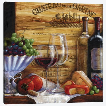 Chateau Magnifique IV Canvas Print #TCK37} by Malenda Trick Canvas Wall Art