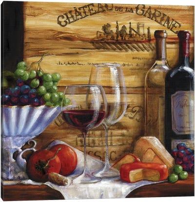 Chateau Magnifique IV Canvas Art Print