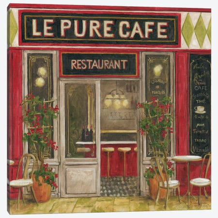 2011 Cafe I Canvas Print #TCK3} by Malenda Trick Canvas Art Print