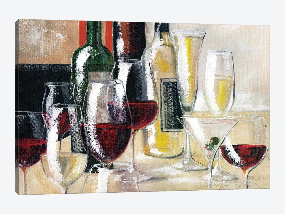 Decanted II by Malenda Trick 1-piece Art Print