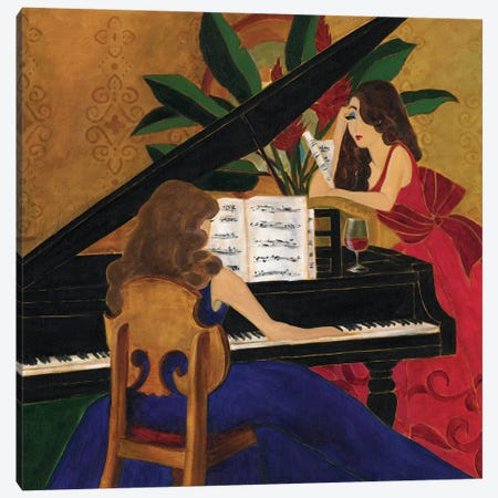 Divas at Play Canvas Print #TCK48} by Malenda Trick Canvas Wall Art
