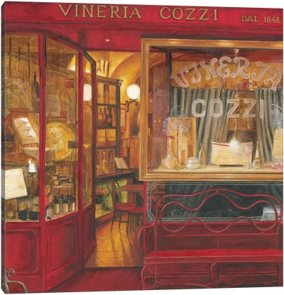 2011 Cafe V Canvas Art Print